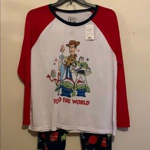 New with tags toy story for Christmas pajamas